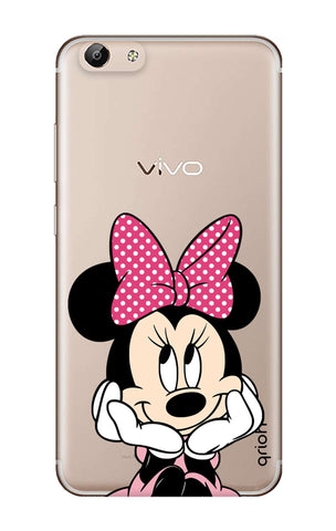 Minnie In Deep Thinking Vivo Y69 Cases & Covers Online