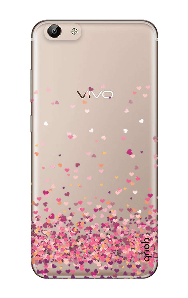 detailed look 31920 6709d Cluster Of Hearts Case for Vivo Y69