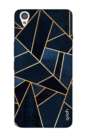 Abstract Navy OnePlus X Cases & Covers Online