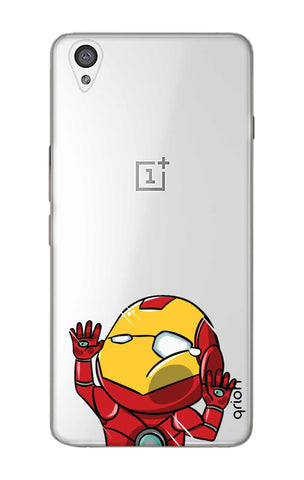 Iron Man Wall Bump OnePlus X Cases & Covers Online