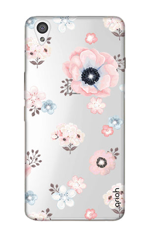 Beautiful White Floral OnePlus X Cases & Covers Online