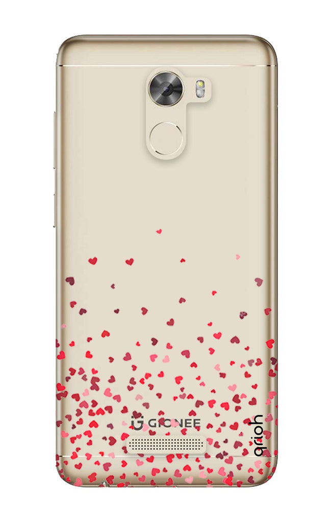 quality design 8cbc1 f07d1 Floating Hearts Case for Gionee A1 Lite