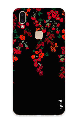 Floral Deco Vivo V9 Cases & Covers Online