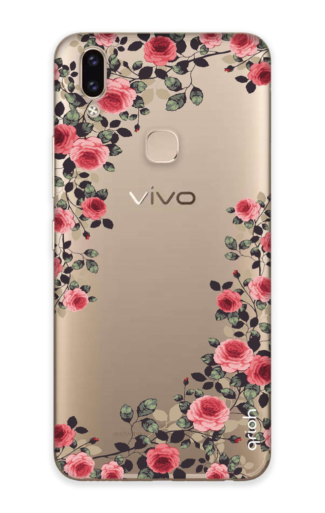 the best attitude c34b9 a2ee6 Floral French Case for Vivo V9