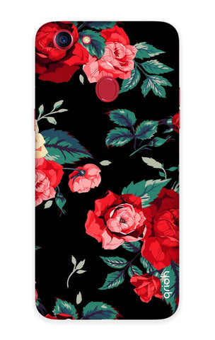 Wild Flowers Oppo F7 Cases & Covers Online