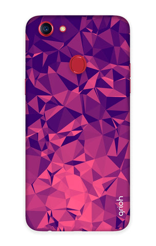 Purple Diamond Oppo F7 Cases & Covers Online