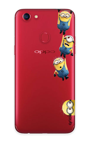 Falling Minions Oppo F7  Cases & Covers Online