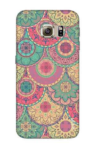 Colorful Mandala Samsung S6 Edge Cases & Covers Online