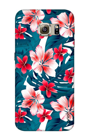 Floral Jungle Samsung S6 Edge Cases & Covers Online