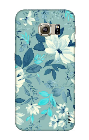 White Lillies Samsung S6 Edge Cases & Covers Online