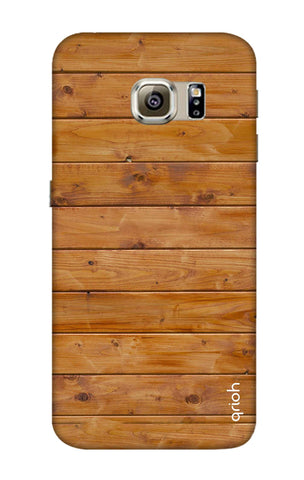 Natural Wood Samsung S6 Edge Cases & Covers Online