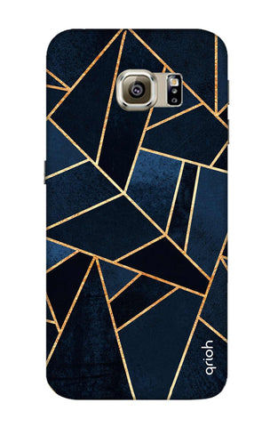 Abstract Navy Samsung S6 Edge Cases & Covers Online