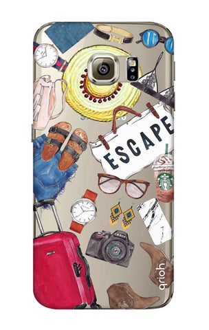 Travel Doodle Samsung S6 Edge Cases & Covers Online