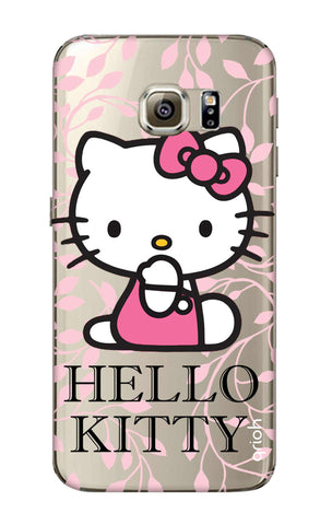 Hello Kitty Floral Samsung S6 Edge Cases & Covers Online