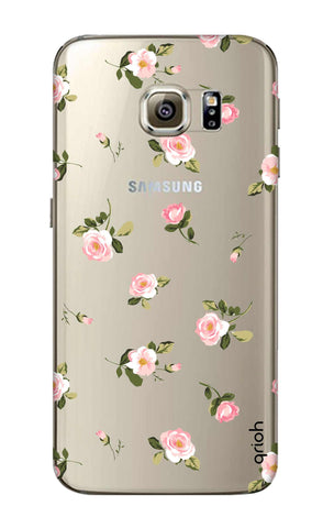 Pink Rose All Over Samsung S6 Edge Cases & Covers Online