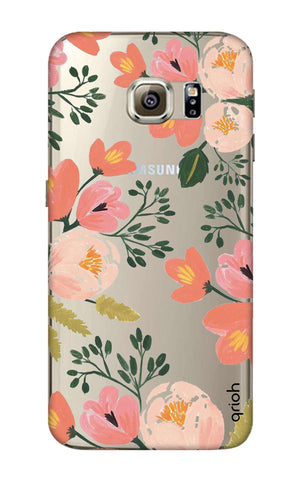 Painted Flora Samsung S6 Edge Cases & Covers Online