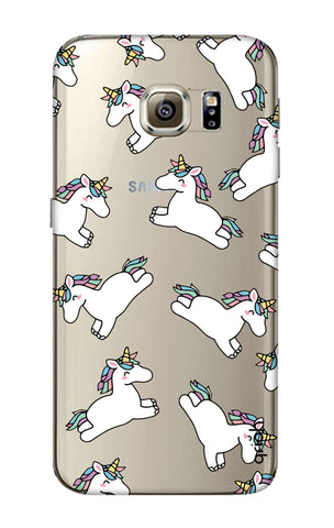 Jumping Unicorns Samsung S6 Edge Cases & Covers Online