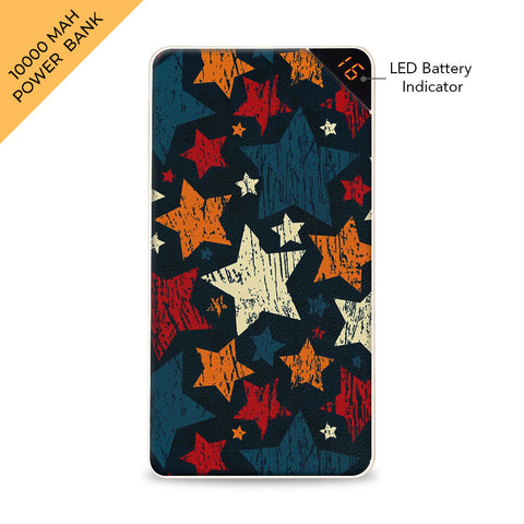 Colorful Stars 10000 mAh Universal Power Bank Online
