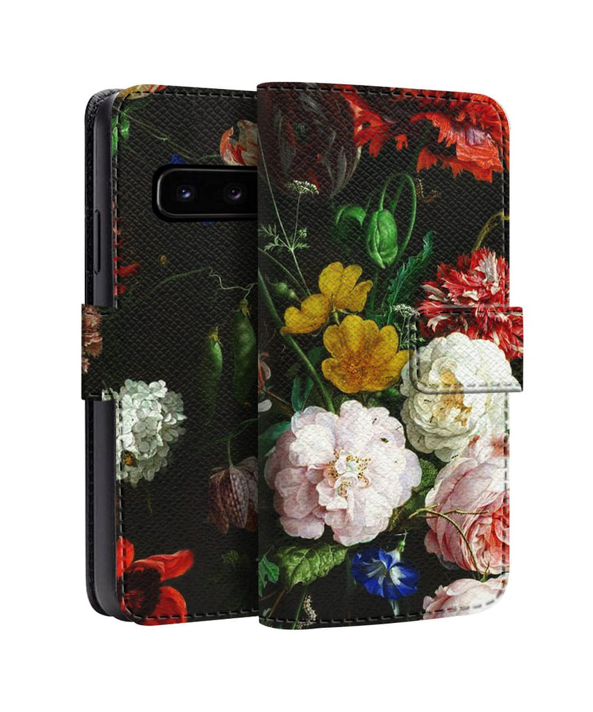 Colorful Floral Pattern Samsung Flip Back Cover Flat 35 Off On