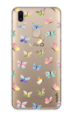 Painted Butterflies Vivo V9 Youth  Cases & Covers Online