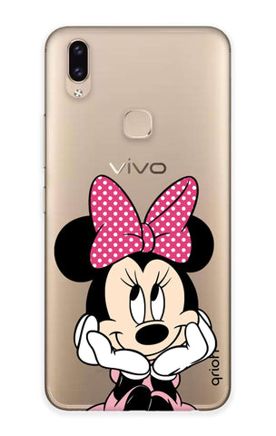 Minnie In Deep Thinking Vivo V9 Youth  Cases & Covers Online