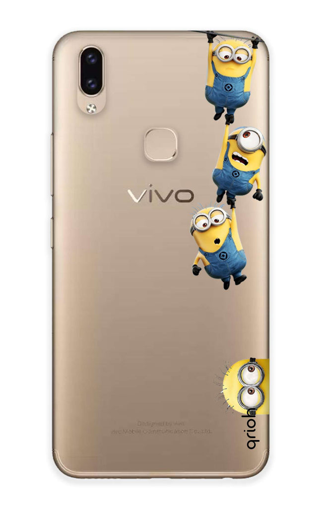reputable site 6c000 77e90 Falling Minions Case for Vivo V9 Youth