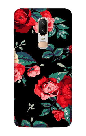 Wild Flowers OnePlus 6 Cases & Covers Online