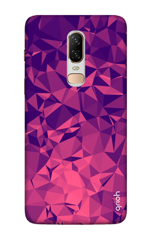 Purple Diamond OnePlus 6 Cases & Covers Online