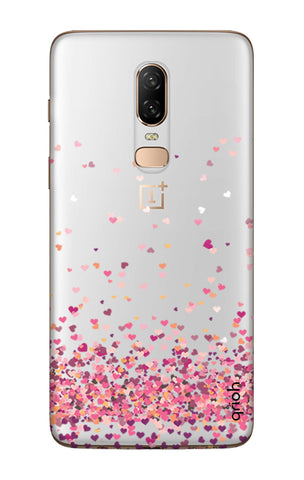 Cluster Of Hearts OnePlus 6  Cases & Covers Online