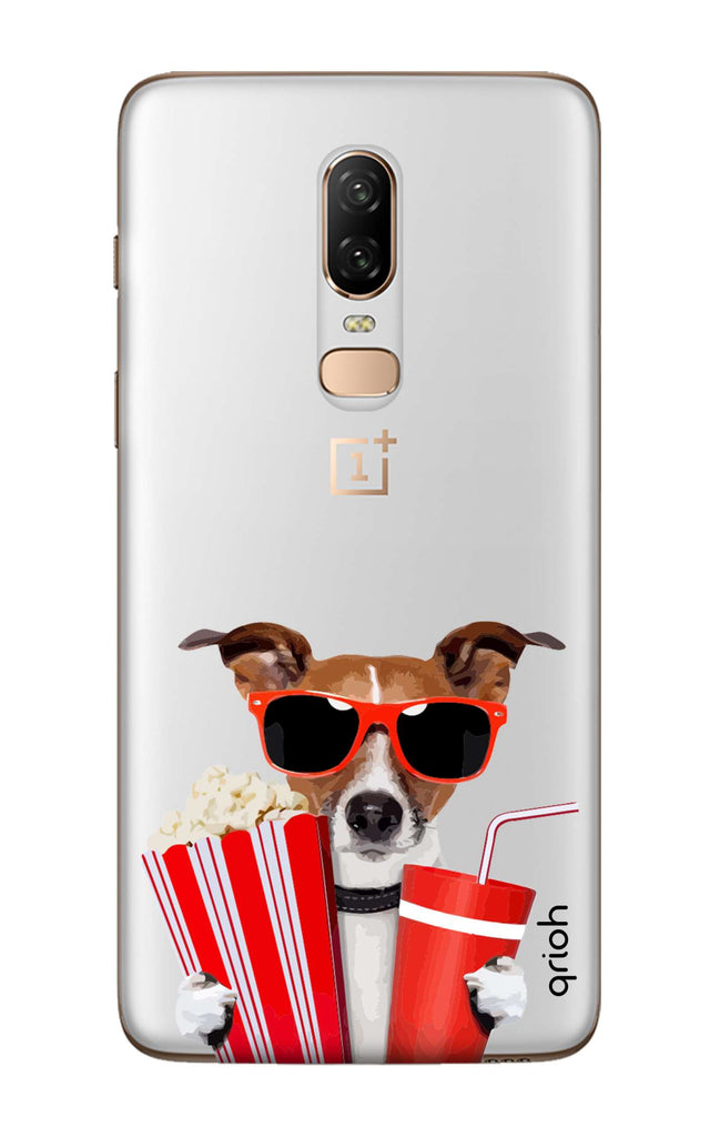 finest selection 4ec7c 3a69e Dog Watching 3D Movie Case for OnePlus 6