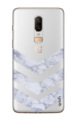 Marble Chevron OnePlus 6  Cases & Covers Online