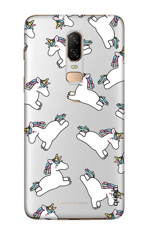 Jumping Unicorns OnePlus 6  Cases & Covers Online