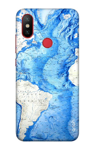 World Map Xiaomi Mi 6X Cases & Covers Online