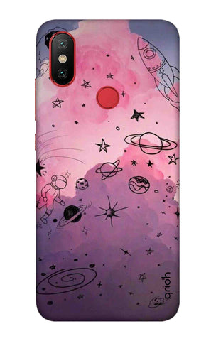 Space Doodles Art Xiaomi Mi 6X Cases & Covers Online