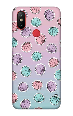 Gradient Flowers Xiaomi Mi 6X Cases & Covers Online