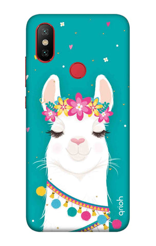 Cute Llama Xiaomi Mi 6X Cases & Covers Online