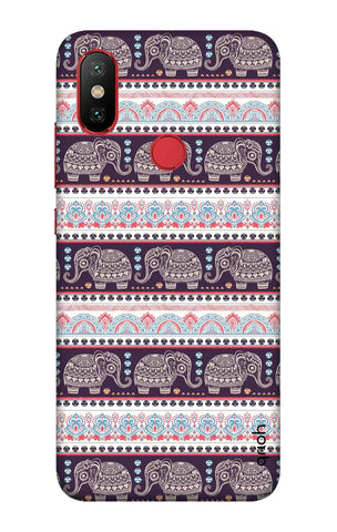 Elephant Pattern Xiaomi Mi 6X Cases & Covers Online