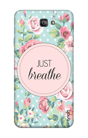 Vintage Just Breathe Samsung J7 Prime 2 Cases & Covers Online