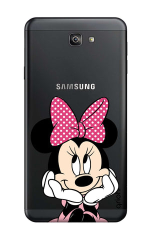 Minnie In Deep Thinking Samsung J7 Prime 2  Cases & Covers Online