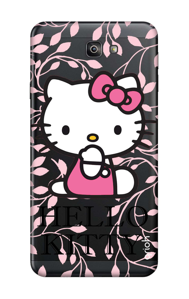 buy online f8d7d a4f1e Hello Kitty Floral Case for Samsung J7 Prime 2