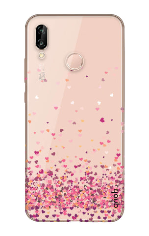 on sale 90350 6495b Cluster Of Hearts Case for Huawei P20 Lite