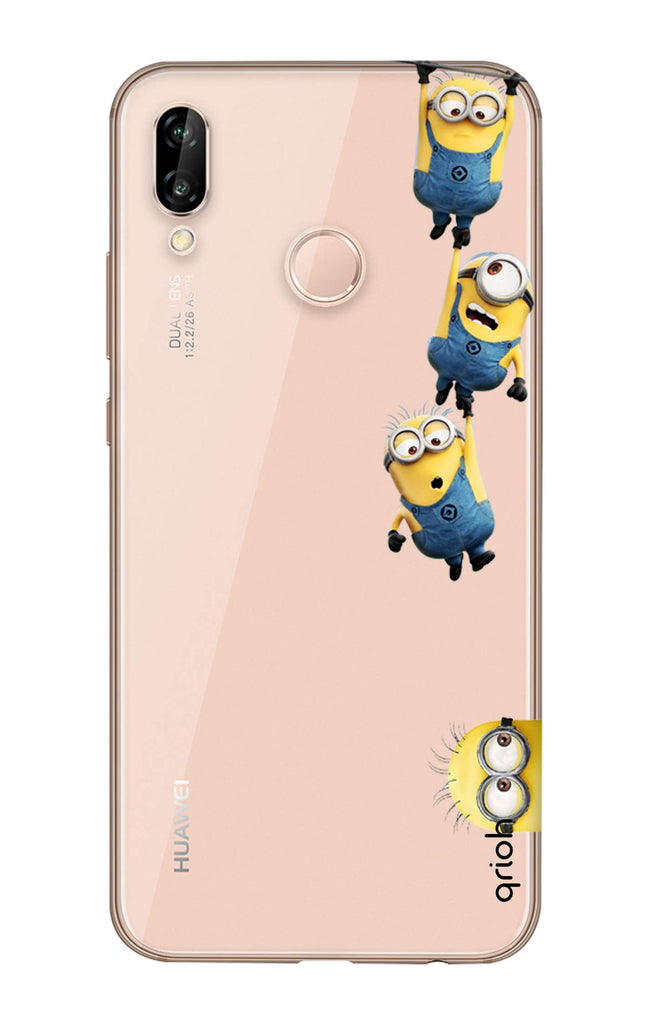the latest 5fee6 6adfe Falling Minions Case for Huawei P20 Lite