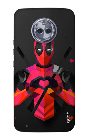 Valentine Deadpool Motorola Moto G6 Cases & Covers Online
