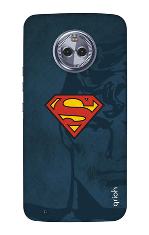 Wild Blue Superman Motorola Moto G6 Cases & Covers Online