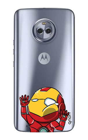 Iron Man Wall Bump Motorola Moto G6  Cases & Covers Online