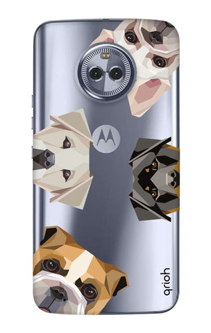 Geometric Dogs Motorola Moto G6  Cases & Covers Online