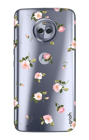 Pink Rose All Over Motorola Moto G6  Cases & Covers Online