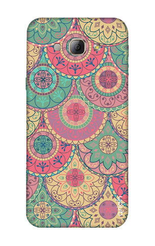 Colorful Mandala Samsung A8 Cases & Covers Online