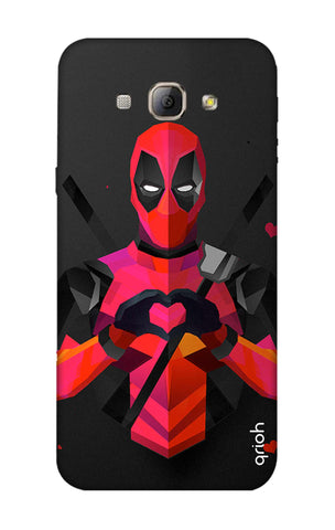Valentine Deadpool Samsung A8 Cases & Covers Online