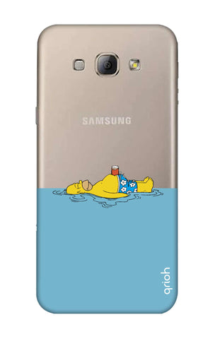 Simpson Chill Samsung A8 Cases & Covers Online